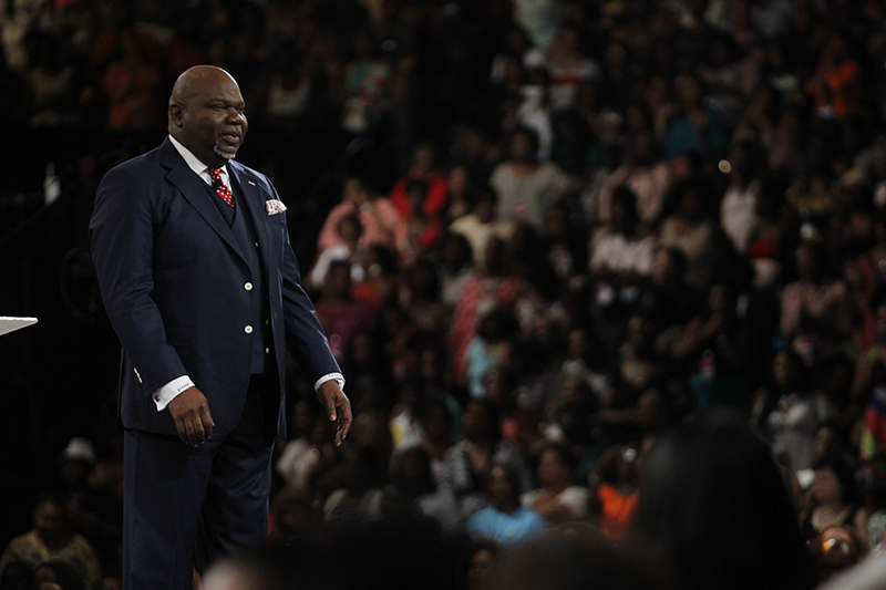 Bishop T.D. Jakes wrapped up Woman Thou Art Loosed this weekend in