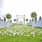 wedding set up in Phuket , Thailand