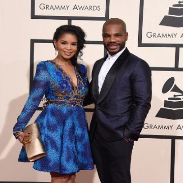 Kirk Franklin's Wife Tammy Drops Video Congratulating Him On New Album!