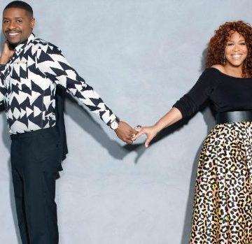 Tina Campbell & Hubby Get Caught By The Kids!!