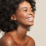 Beautiful African Woman Smiling