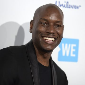 Tyrese Beefin' With Ex-Wife Over Child Care