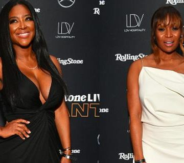 Kenya Moore, Marlo Hampton Spotted At Big Game Pre-Party