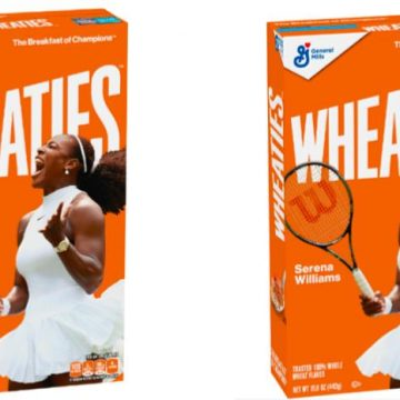 It's About Time Serena Williams Featured On Wheaties Box