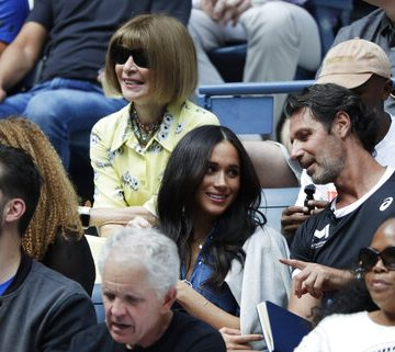 Meghan Markle At US Open To Support Serena