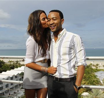 Chrissy Teigen & John Legend On Holiday Boxes Of Chex Cereal