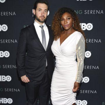 Serena Celebrates 2nd Wedding Anniversary