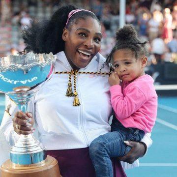 Serena Williams Already Teaching Olympia Tennis