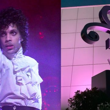 Prince's Love Symbol Statue Unveiled At Paisley Park
