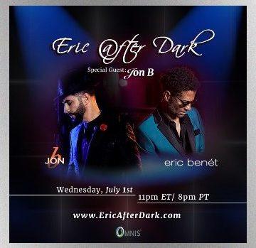 Eric Benet Serves Up 'Eric After Dark' Live Stream [LIVE]