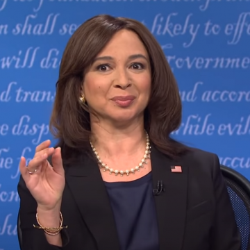 Maya Rudolph Delivers Her Best Sen Kamala Harris Yet! [WATCH]