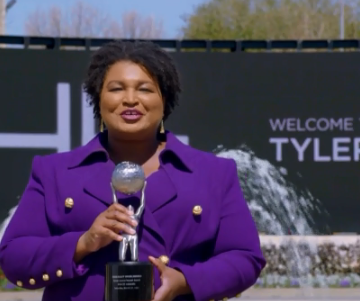 Michelle Obama Honors Stacey Abrams With NAACP Social Justice Impact Award