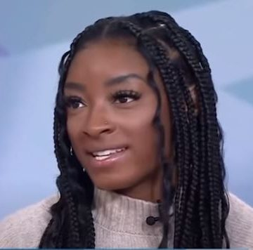 Simone Biles Opens Up About Still 'being scared' To Do Gymnastics [WATCH]