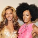 Cute: Beyonce and Solange Slight Fall on Stage at Coachella
