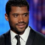 Russell Wilson Coaches Baby Future's 1st Baseball Game
