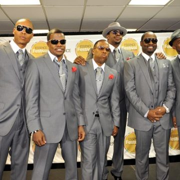 New Edition Performing Without Ralph and Johnny