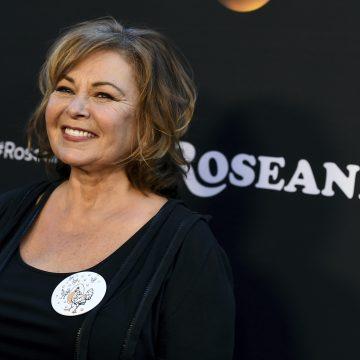 Rosanne Barr Tearful on Television