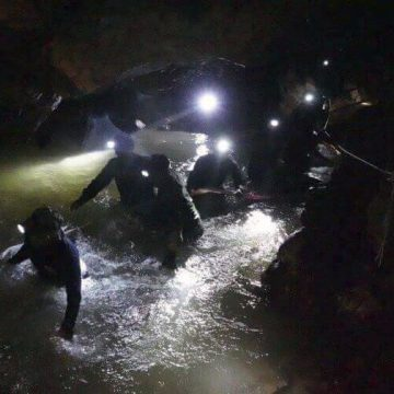 Thailand Diver Dies During Rescue Operations