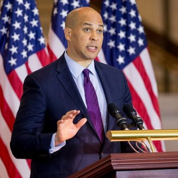Corey Booker Annonces His Run for President