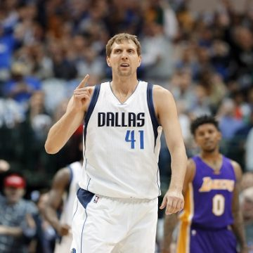 Dallas to Rename Part of Olive Street to Dirk Nowitzki Way