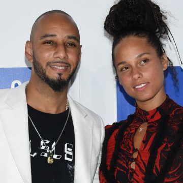 Swizz Beatz and Alicia Keys