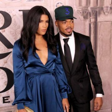 Chance The Rapper and Wife