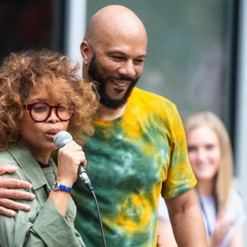 Erykah Badu and Common