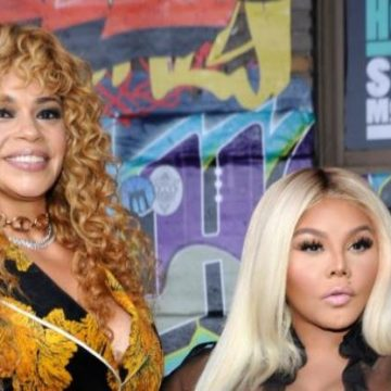 faith Evans and Lil Kim
