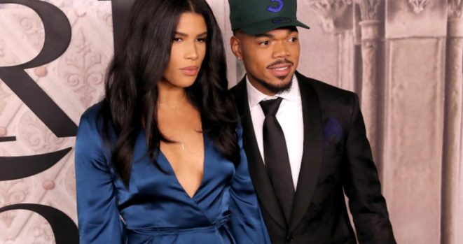 Chance the rapper and wife Kirsten