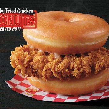 KFC Chicken and Donut-sandwich