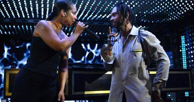 Alicia Keys and Miguel