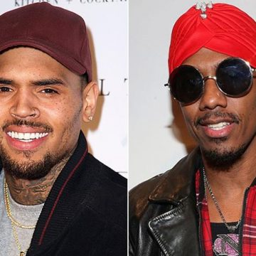 Chris Brown and Nick Cannon