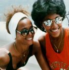 Whitney Houston and Robyn Crawford