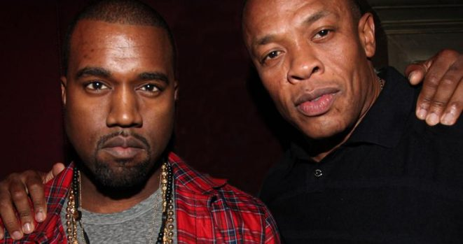 Kanye West and Dr. Dre