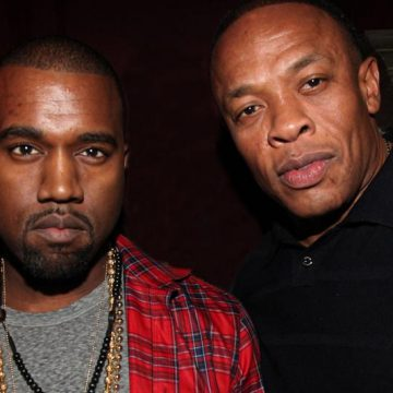 Kanye West and Dr. Dre Announce Joint Project