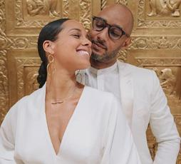 Alicia and Swizz