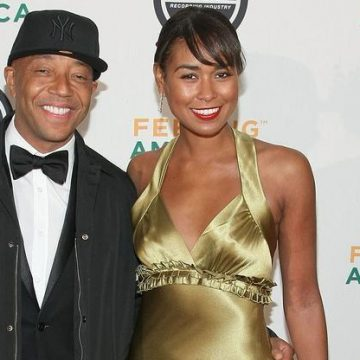 Russell Simmons and Katie