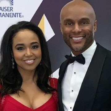 Kenny Lattimore and Judge Faith Jenkins