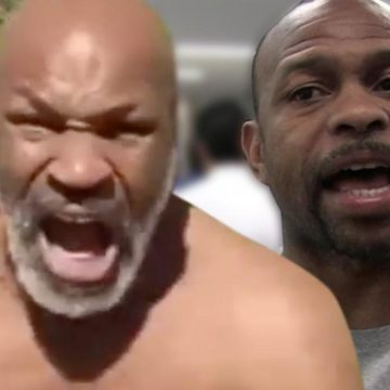 Mike Tyson Fighting Roy Jones Jr. in Fighting Comeback