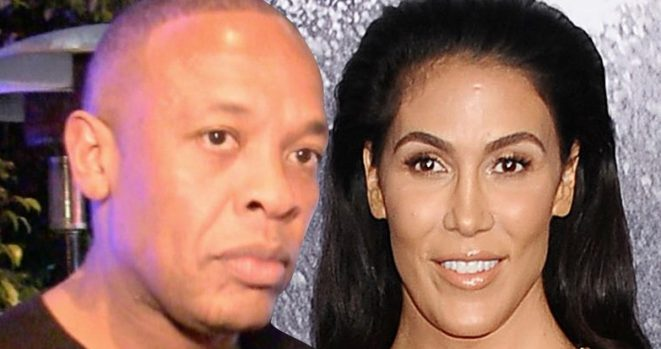 Dr. Dre. and wife Nicole