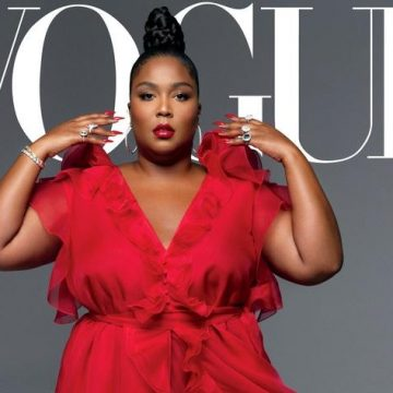 Lizzo Becomes the First Plus Size Woman to Appear on Vogue