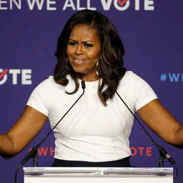 Michelle Obama: Don't Mail in Your Vote–It Will Get Lost