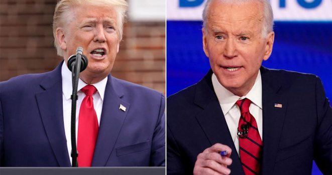 Donald Trump & Joe Biden