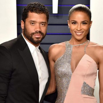 Russell and Ciara Wilson