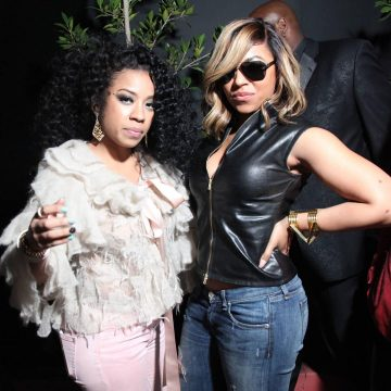 Keyshia Cole and Ashanti