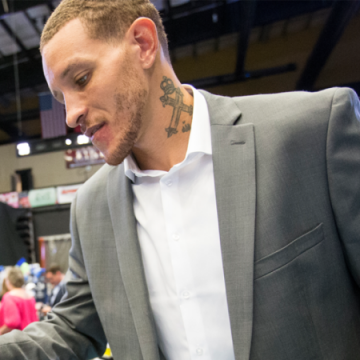 Delonte West Now Workiing at Rehab Facility He Checked Into in September