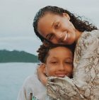 Alicia Keys and son Egypt