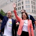 Kamala Harris Is The First Sitting VP To March In LGBT Pride Parade