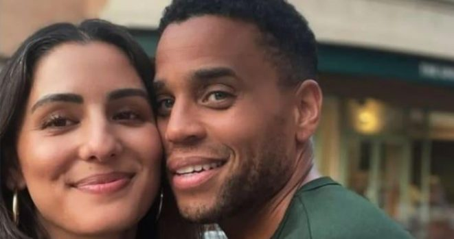 Michael Ealy and Wife