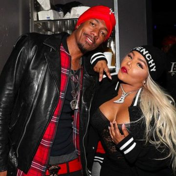 Lil Kim and Nick Cannon